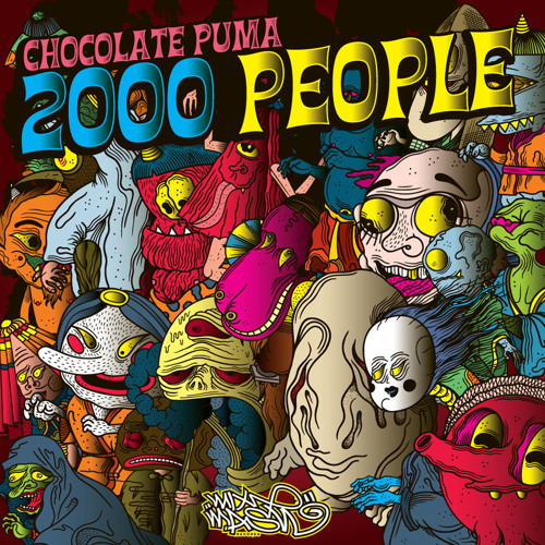 Chocolate Puma - 2000 people
