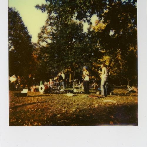 Tanzen im Park