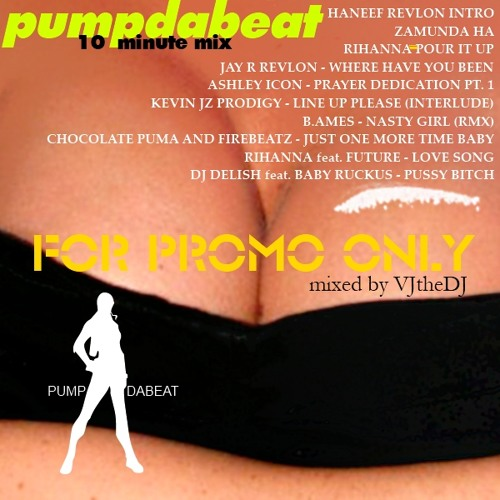 PUMPDABEAT 10 MIN MIX - VJtheDJ (2013)