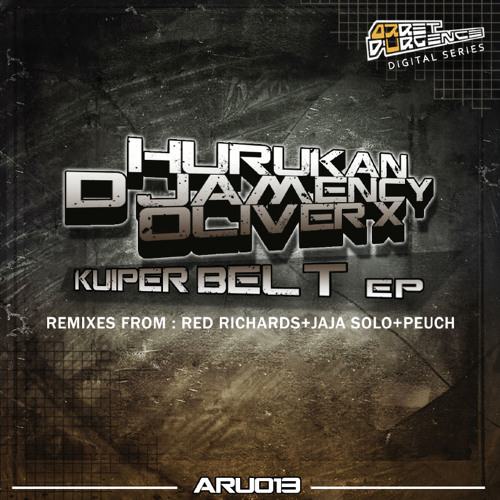 HURUKAN-D'JAMENCY-OLIVER X - Kuiper Belt EP /// Arrêt d'Urgence records 013 - FR