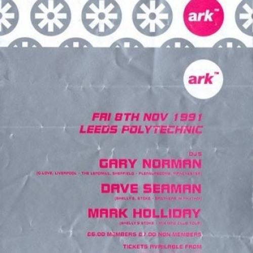 Mark Holliday live at ARK 8th November 1991