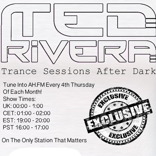 Ted Rivera - Trance Sessions After Dark 021 April 2013 AH.FM Radio Broadcast
