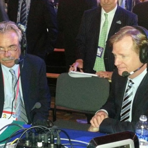 NFL Commissioner Roger Goodell joined Movin' the Chains live from the 2013 NFL Draft