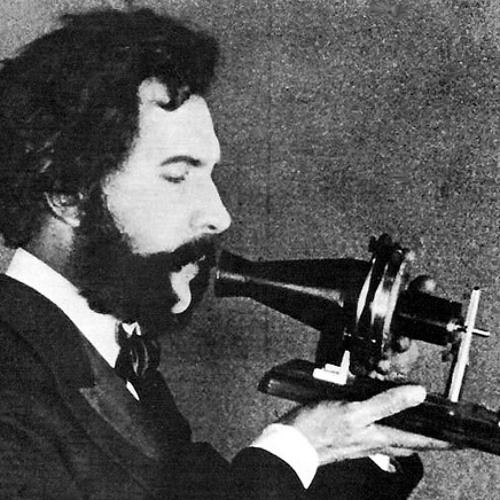 Alexander Graham Bell speaks