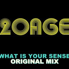 20AGE - What is your sense ? ( Original Mix )