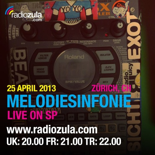 Melodiesinfonie - Live on the Sp 404 for Radio Zula (unreleased material)