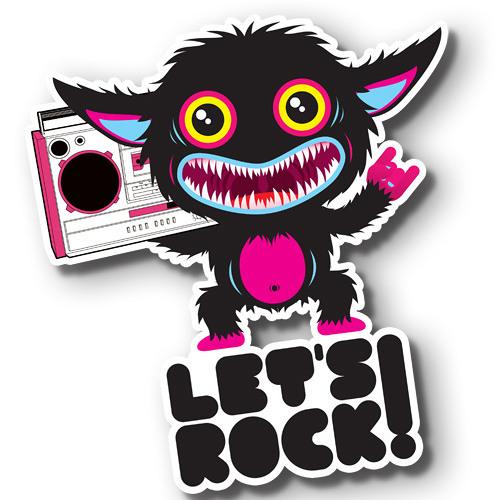 Angry Rocket (Mergel) - Let's Rock