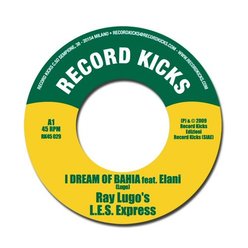 Ray Lugo LES Express - Get on up feat Roxie Ray