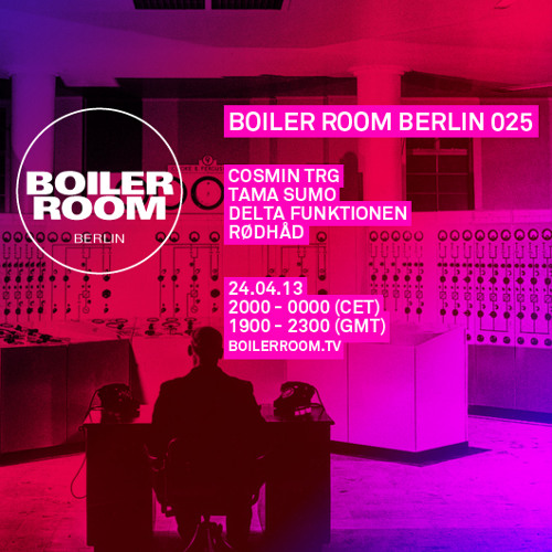 Cosmin TRG 70 Min Boiler Room Berlin Mix