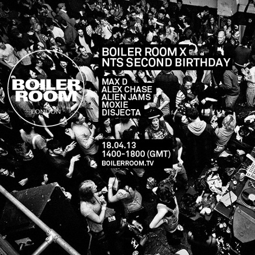 Disjecta 50 min Boiler Room mix