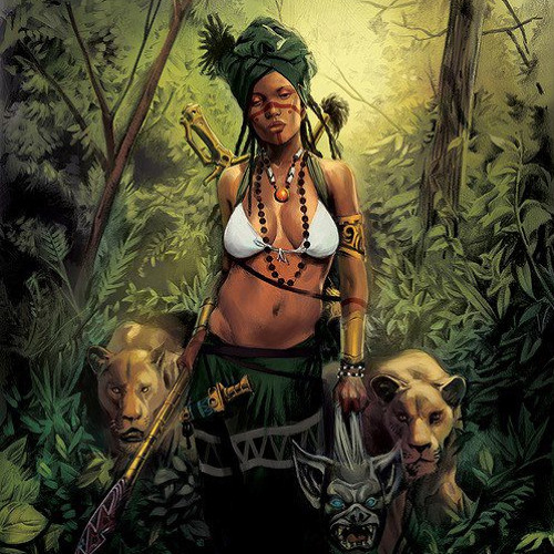 attack of the jungle woman