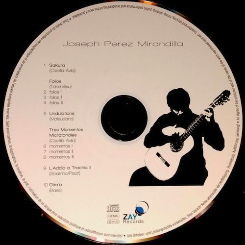 Jonas Baes -Gita'a- Joseph Perez Mirandilla CD. Extract
