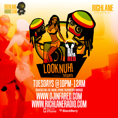 "#LOOKNUHTUESDAYS-APRIL 23. 2013 PT.2 R&B/SLOWJAMS (""LIVE"" PODCAST WWW.DJINFARED.COM"