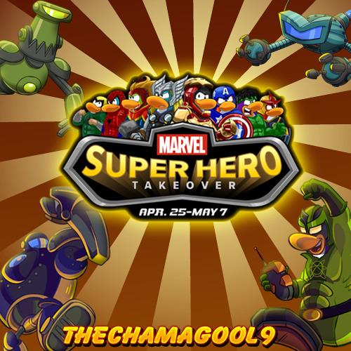 Club Penguin: Marvel Super Hero Takeover 2013 - Theme Song
