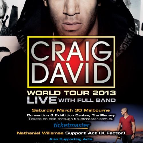 Craig David World Tour 2013 Mixed CD by Stefan Radman