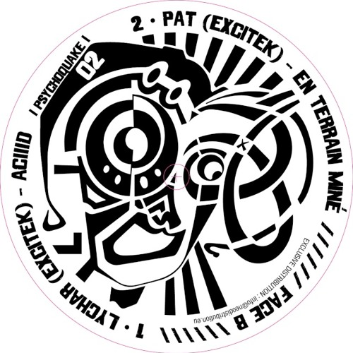 Lychar Excitek - Aciiid (Psychoquake 02 - Vinyl & Digital)
