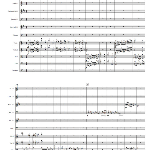 Suite for Orchestra No. 2, Op. 2 - I. Allegro