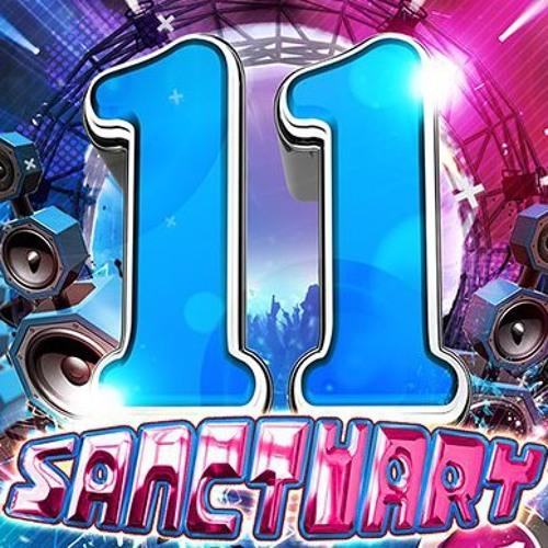 Sanctuary 11th Birthday Promo CD - DJ Joe Taylor - Dose Of Donk
