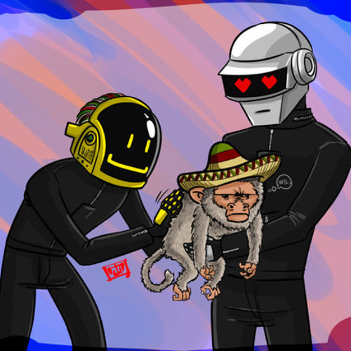 Daft Punk Featuring Pharrell - Get Lucky [Soulstyce Mexican Monkey Rub Re-Edit] (2013)
