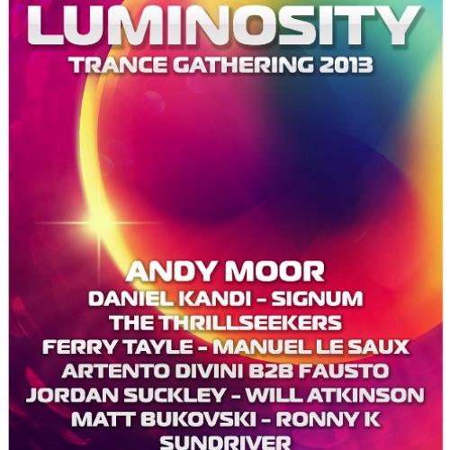 Jordan Suckley LIVE @ Luminosity Trance Gathering, Amsterdam (05.04.13)