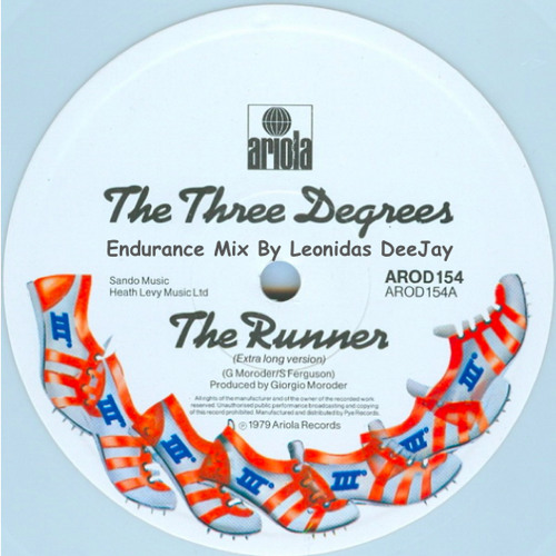 The Three Degrees - The Runner (Endurance Mix by Leonidas DeeJay)Limited D/L
