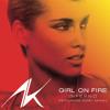 Alicia Keys & Nicki Minaj - Girl On Fire » DG edit;