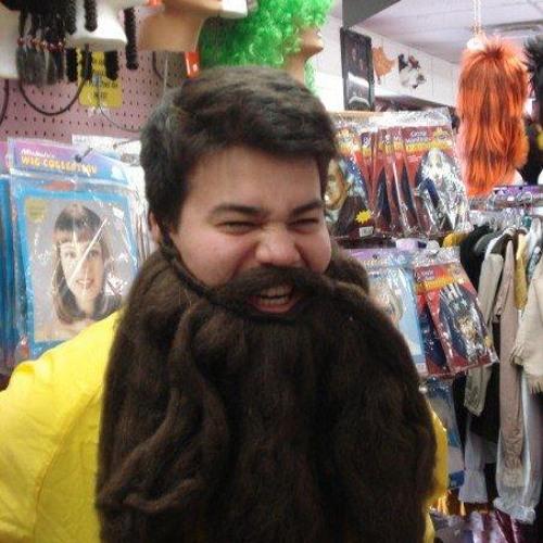 Great big bushy beard