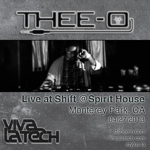 Thee-O - Live at Shift (04/27/13)