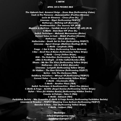 C-Netik - April 2013 Promo Mix