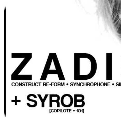 ZADIG DJ SET@101 club 26/04/2013