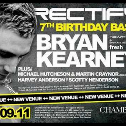 Bryan Kearney LIVE @ Rectify's 7th Birthday, September 2011