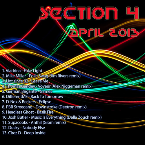 Deep house mix April 2013