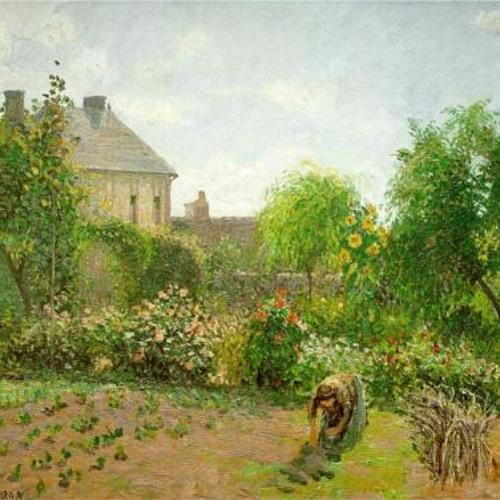 7Audioguide-Pissarro, The Artist's Garden at Eragny