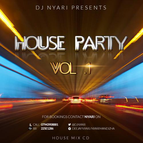 HOUSE PARTY VOL1 ( HOUSE CD )  - MIXED BY DJ NYARI