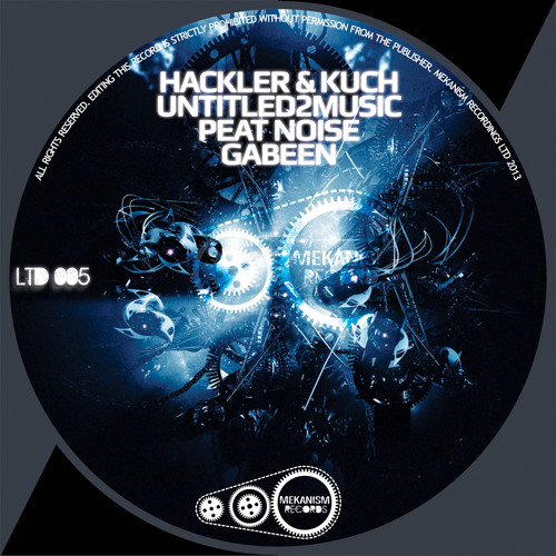Untitled2Music - Futuristic (MKLTD006) [Mekanism Records]