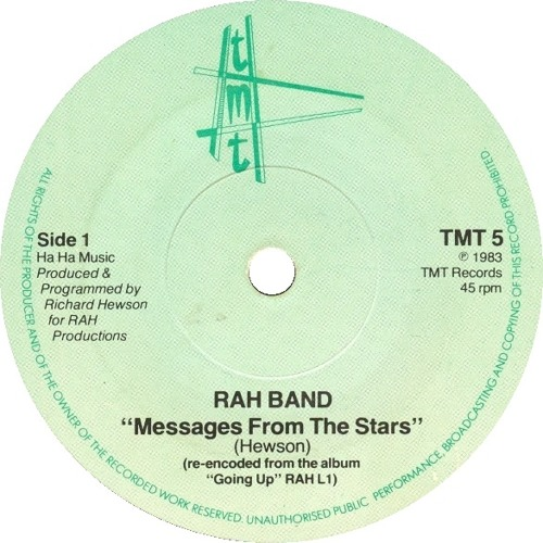 The Rah Band - Messages From The Stars