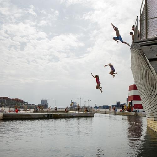 Podrun Copenhagen - Harbour Bath at Islands Brygge