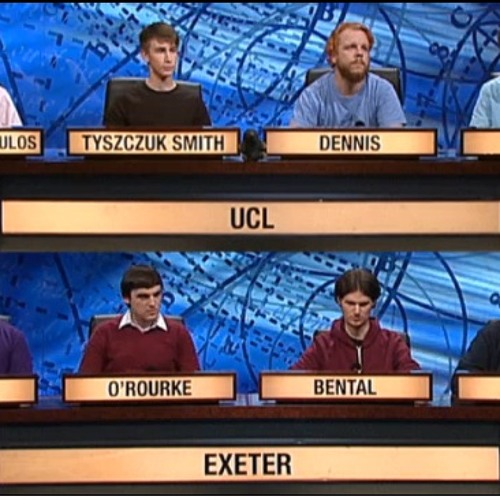University Challenge | Tom Tyzczuk Smith & Adam Papaphilippopoulos - UCL News Podcast (30/04/13)