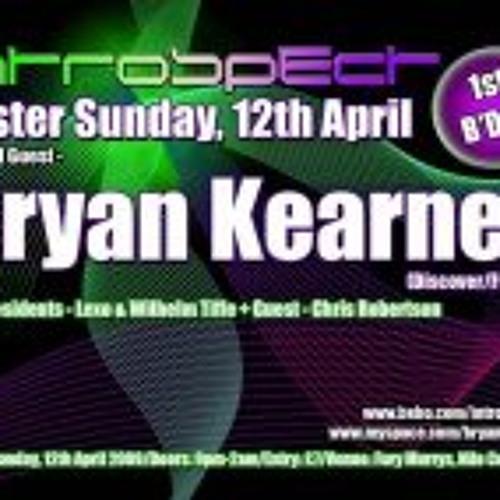 Bryan Kearney - Live @ Introspect, Ayr 12-04-09