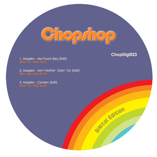 Moplen Chops # OUT ON CHOPSHOP MUSIC #