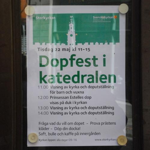 SOS Bassisme - Dopfest i katedralen