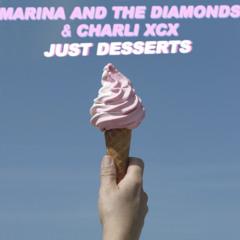 "MARINA AND THE DIAMONDS + CHARLI XCX   ♡ ""JUST DESSERTS"" ♡"