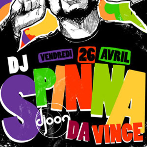 Dj Spinna @ Djoon, Friday April 26th, 2013
