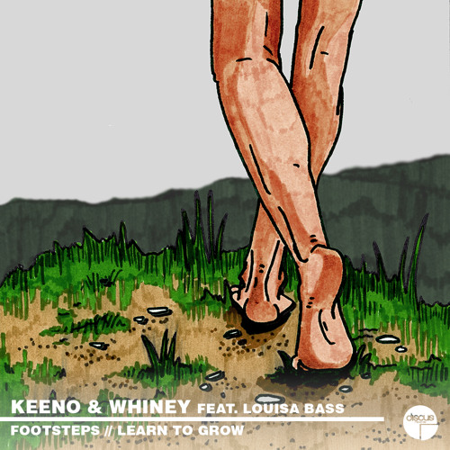 DCS:003 A// Keeno & Whiney - Footsteps (ft. Louisa Bass) B// Learn To Grow (ft. Louisa Bass)