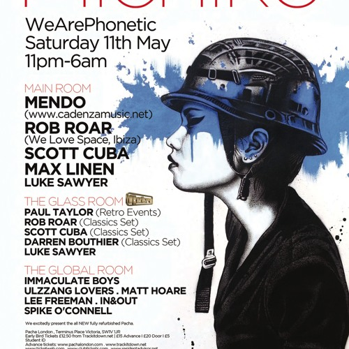 Rob Roar LIVE @ Phonetic Party, Shoreditch, London May 12
