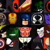 Super Hero And Super Villian