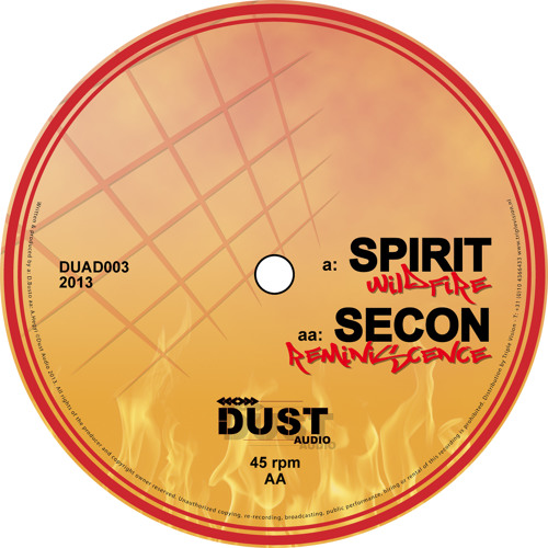 """Spirit / Secon - Wildfire b/w Reminiscence 