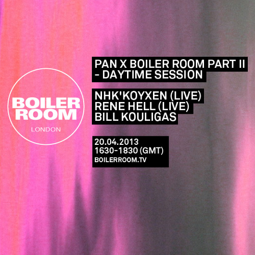 Nhk'koyxen LIVE in the Boiler Room