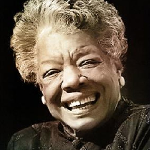 "Maya Angelou reads ""Life Doesnt Frighten Me"""
