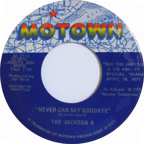 Free Download - But Leave A Comment - Jackson 5 - Never Can Say GoodBye (Dj Prime SweetStuff Rework)